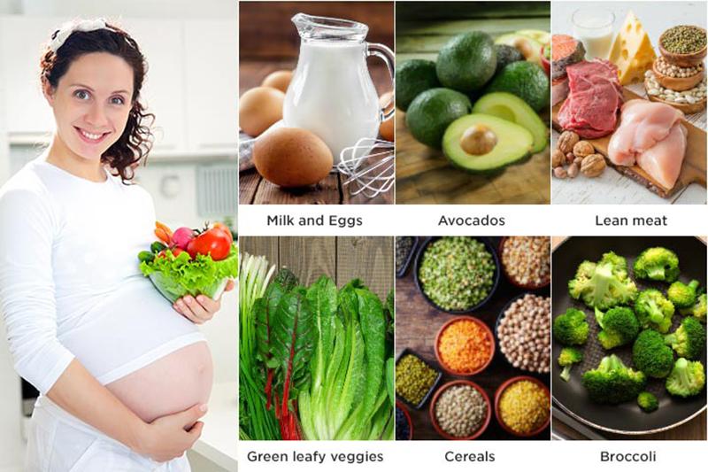 อาหารบำรุงคนท้อง